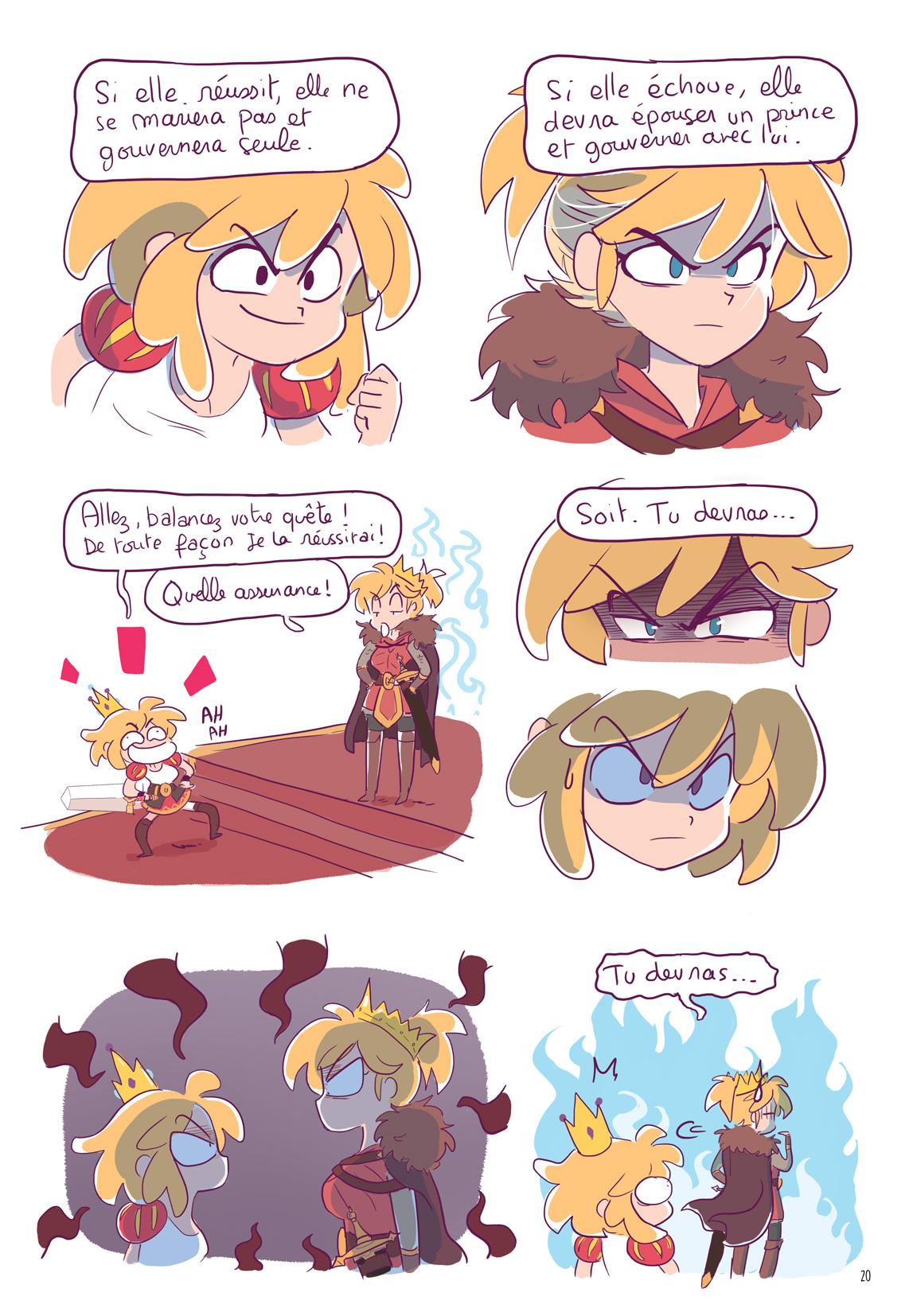 Erika et les princes