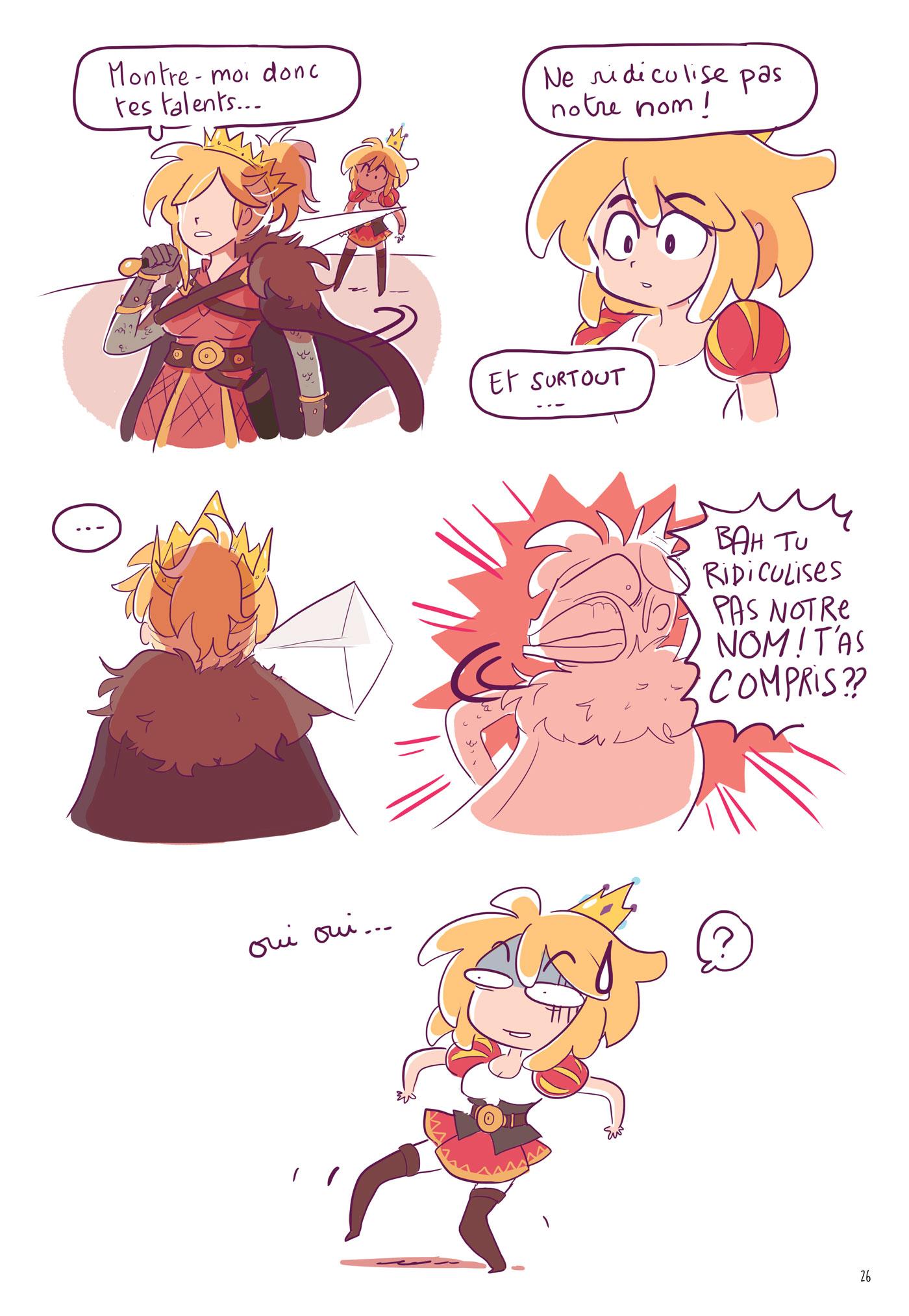 princes en détresse