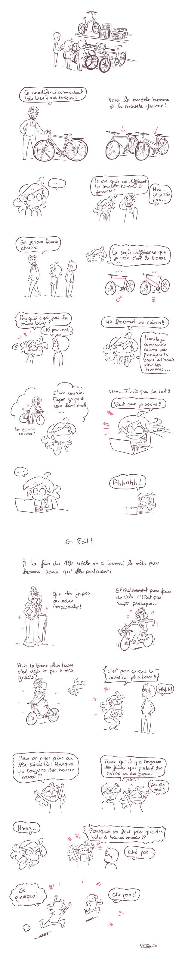 vélo pour femmes et pour hommes