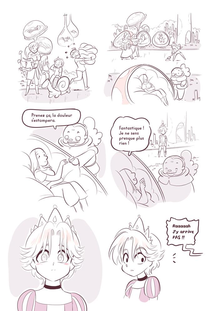 Erika princes en détresse