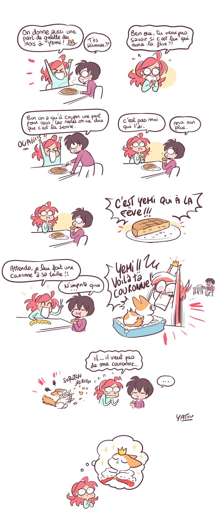 galette des rois fève